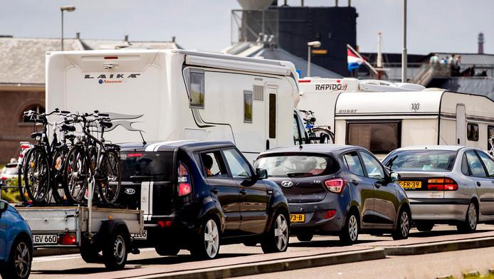 Het wordt dit weekend druk op de Europese vakantieroutes