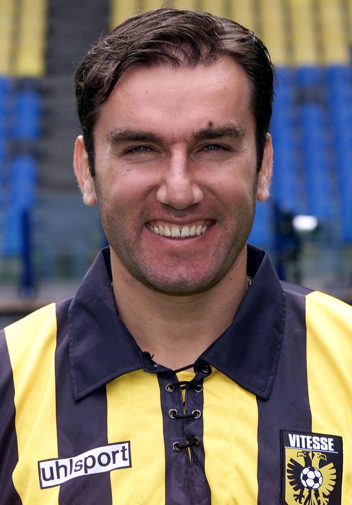 2000-08-07 13:14:13 KPN Eredivisie, seizoen 2000/2001. Vitesse, Dejan Curovic. ANP-Foto Pics United