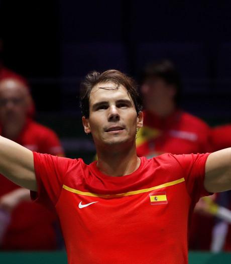 """Une fusion entre la Coupe Davis et l'ATP Cup? """"La seule solution"""" pour Nadal"""