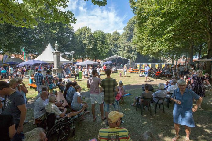 Muziekfestival Nisse vorig jaar.