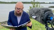 Performer Andy Fierens laat vier weken lang Nieuwe Antwerpse Sprookjes los op luisteraars Radio Minerva