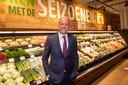 Frits van Eerd, ceo van Jumbo, vorige week tijdens de opening van de eerste Jumbo-supermarkt in België.