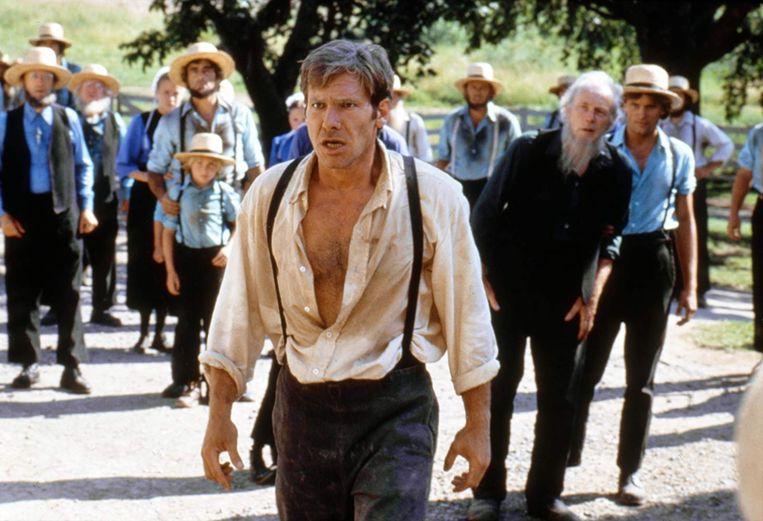 Harrison Ford in 'Witness' van Peter Weir. Beeld