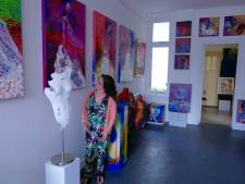 Waalwijkse kunstenares opent galerie in vesting Heusden