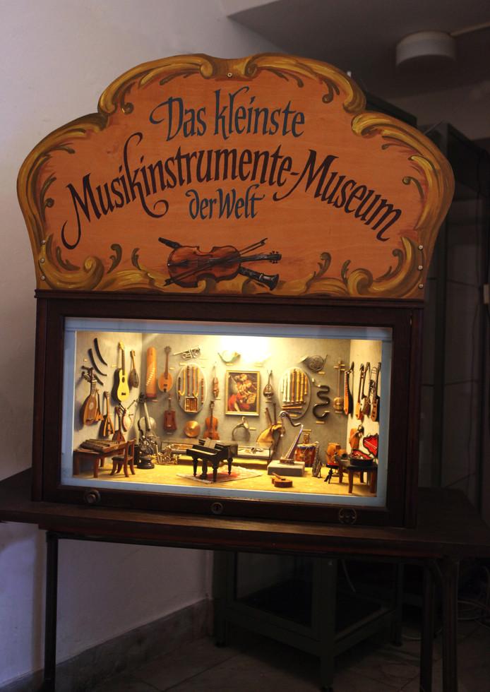 Het kleinste muziekinstrumentenmuseum ter wereld.