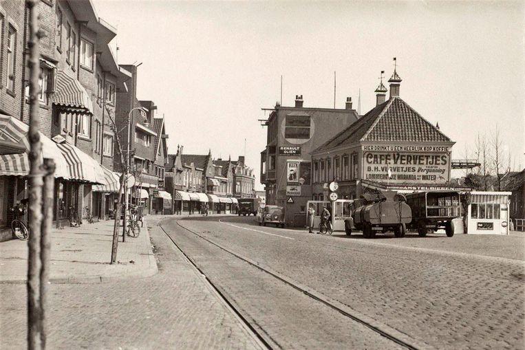 Hartveldseweg, ca 1935. Beeld Stadsarchief