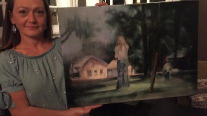 Sandra Raats stelt tentoon