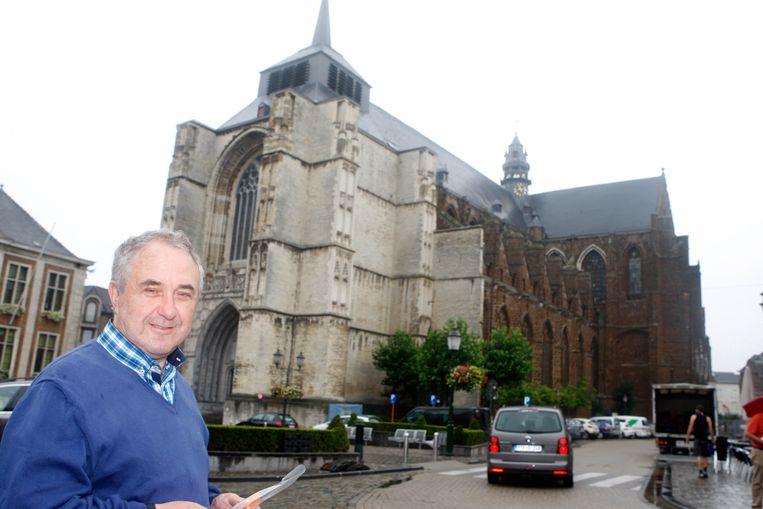 Deken Felix Van Meerbergen is coördinator van de nieuwe Sint-Jan Berchmansparochie en de vier overgebleven parochies in Diest.