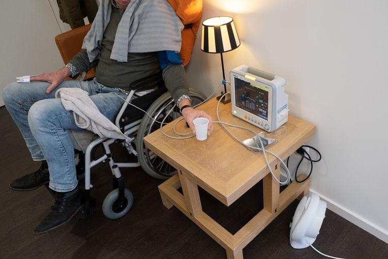 Bij tandarts Kies in Alphen aan den Rijn. Beeld Sabine van Wechem