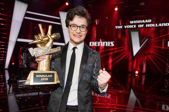 Dennis won in 2019 The Voice of Holland.