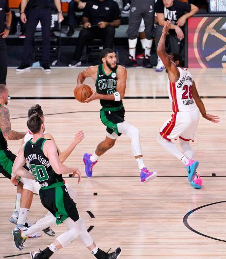 Boston Celtics blijft in de race voor NBA-finale na winst op Miami Heat