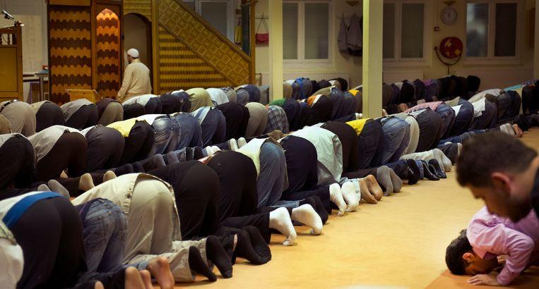 Niet de Al Ihsane-moskee, maar de Aya Sofia-moskee in Amsterdam. Beeld anp
