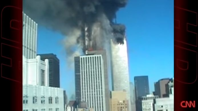 L'attentat du World Trade Center le 11 septembre 2001.