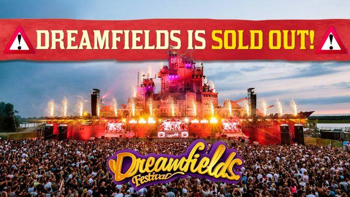 Dreamfields 2018 is uitverkocht.