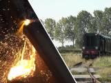 Spoorstaven bezwijken door hitte: stroomtrein rijdt niet