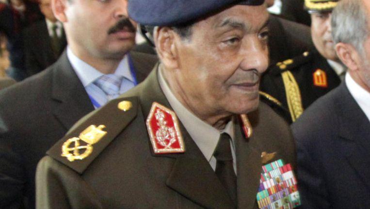 Veldmaarschalk Mohammed Hussein Tantawi. Beeld afp