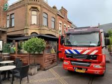 Brand in kelder van Restaurant De Zaak in Doetinchem