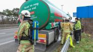 Tankwagen vol brandstof raakt oververhit op E313