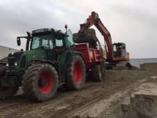 Tractor gestolen bij hotel Van der Valk in Apeldoorn