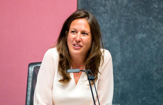 Wethouder onderwijs, inburgering, armoede en schuldhulp Marjolein Moorman van de PvdA.