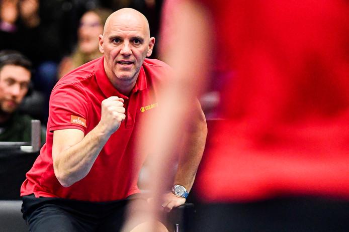 La qualification pour la phase finale de la Fed Cup se jouera mardi pour la Belgique de Johan Van Herck.