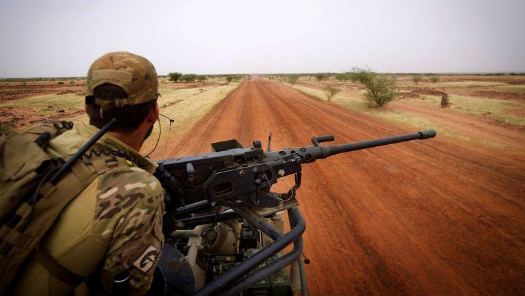 Nederlandse commando's tijdens een patrouille in Mali Beeld anp