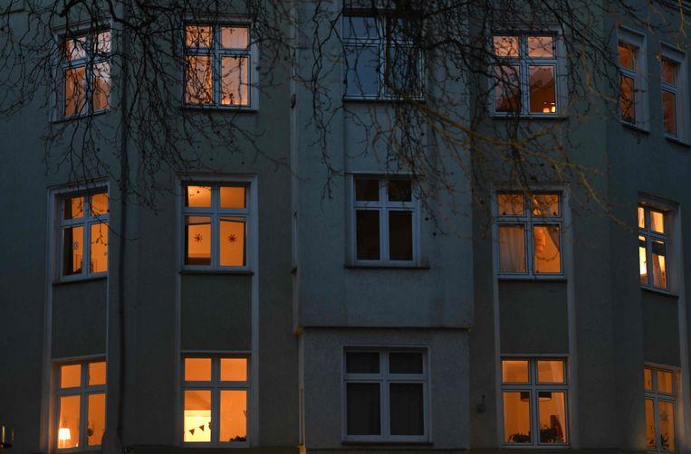 In Duitsland vrezen de instanties dat de coronacrisis een 'Kerstmis in het kwadraat' is. Beeld AFP