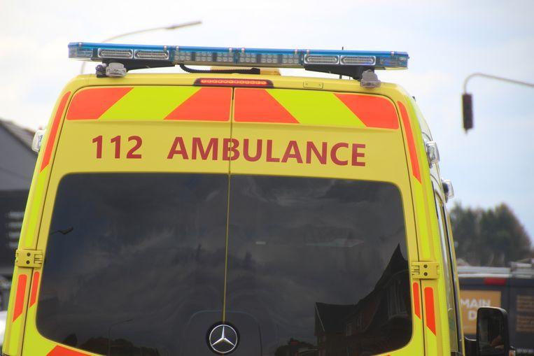 Ambulance Ziekenwagen Zuid-Oost Aalst.