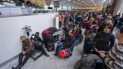 Grootste en drukste luchthaven ter wereld ligt al uren plat