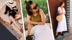 Inspiratie nodig voor de zomer? Fashion blogger Paulien toont je haar 7 vakantielooks
