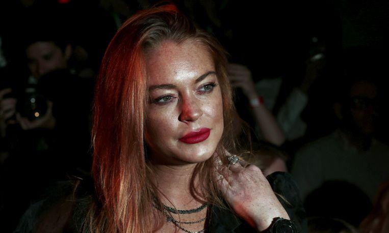 Lindsay Lohan Beeld Reuters