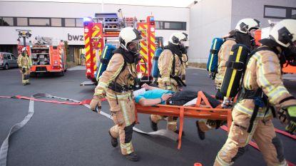 Meer dan 100 manschappen betrokken bij evacuatie-oefening Beschutte Werkplaats