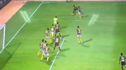 Grappiger kan moeilijk in voetbal: surreële fase in Saoedi-Arabië met ex-speler van AA Gent in een hoofdrol