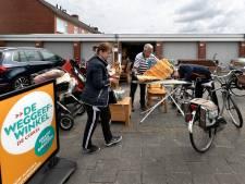 Weggeefwinkel Gemert: meer mensen ruimen nu op, dus meer spullen