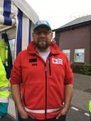Matthijs uit Tilburg werkt voor het Rode Kruis.