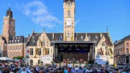 Vlaamse artiesten kleuren Denderende Donderdag