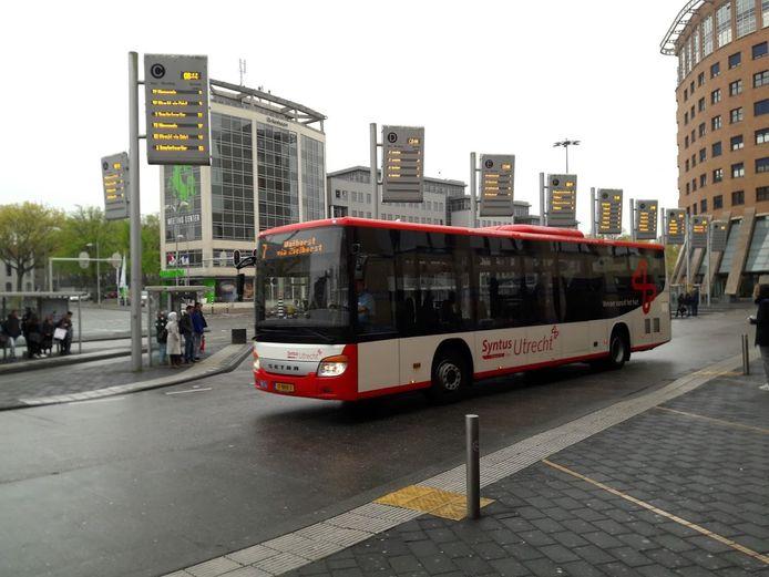 Het busstation van Amersfoort.