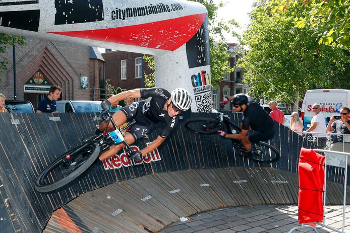 Het Valkenswaard City Mountainbike Festival van vorig jaar.