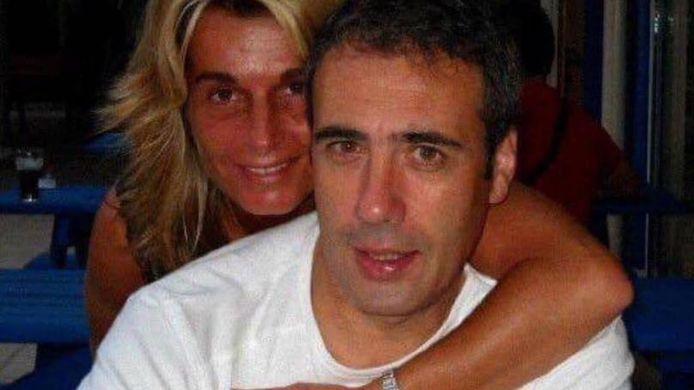 Philippe Monguillot met zijn echtgenote Véronique.