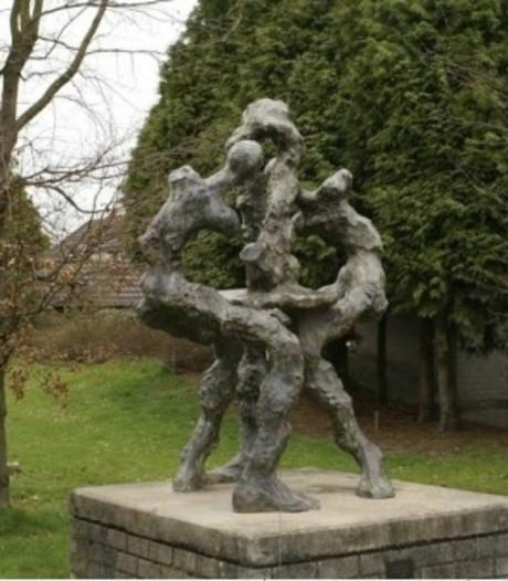 Kunstwerk in Beltrum na bijna 30 jaar verplaatst