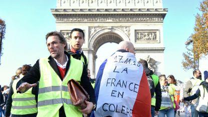 'Gele hesjes' in Frankrijk veroordeeld voor geweld tijdens brandstofprotest, ook in België zijn manifestanten door politie verdreven