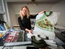Mirjam maakt Waterfronttassen van bouwdoek