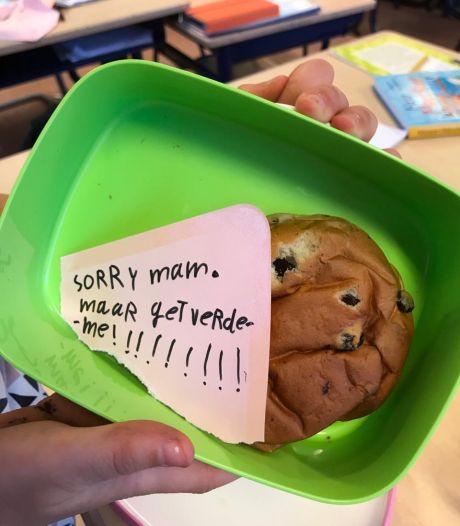Briefjes uit de lunchtrommel: 'Sorry mam, maar getverdemme'