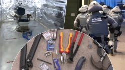 Nederlandse politie ontdekt onderwereldgevangenis met speciale martelkamer in zeecontainers