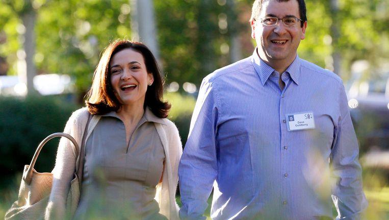 Sheryl Sandberg en David Goldberg