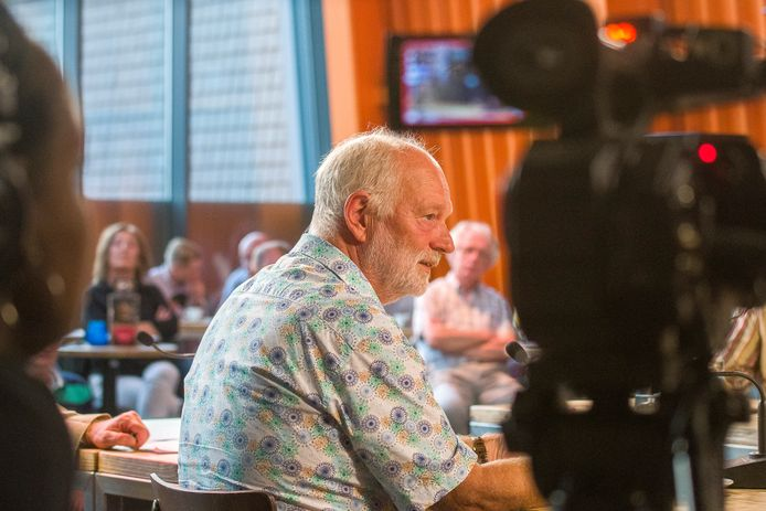 Oudwethouder Wieger Mulder was een van de plannenmakers die mocht praten over zijn ideeën over het nieuwe Hengelose marktplein.