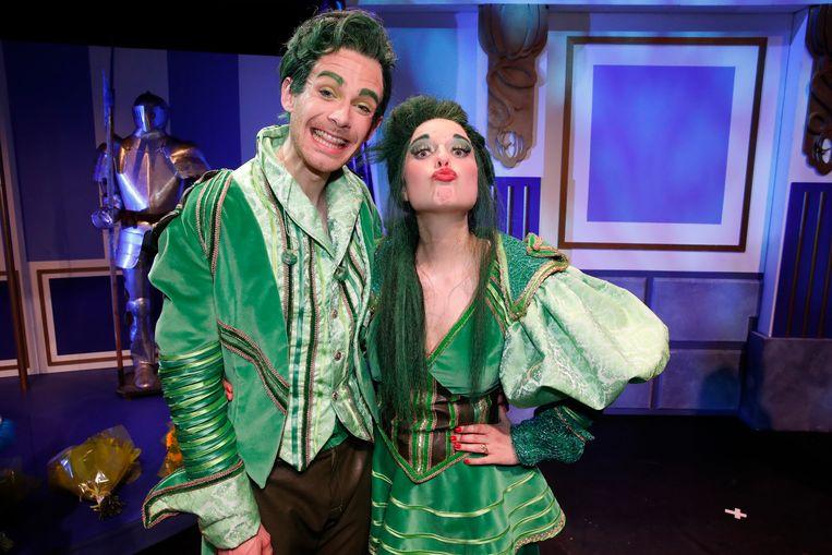 Laurenz Hoorelbeke en Jasmine Jaspers spelen de stiefbroer en -zus van Assepoester.