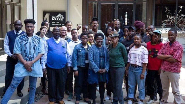 De fotovakschool stelde tijdens de laatste jaren van de apartheid zwarte Zuid-Afrikanen in de gelegenheid om fotografie te studeren. Beeld Siphosihle Mkhwanazi