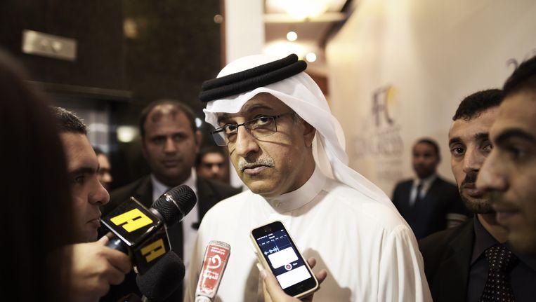 Sjeik Salman bin Ibrahim Al Khalifa uit Bahrein.
