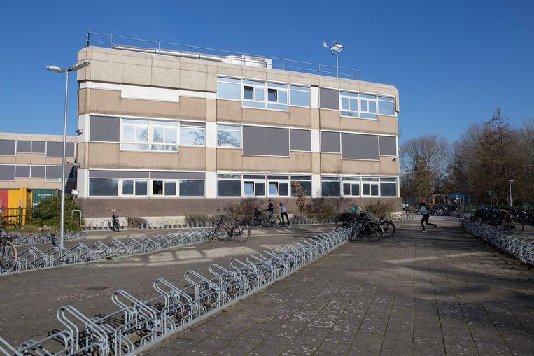 Het Hoofdvaart College in Hoofddorp. Beeld Pauline Niks